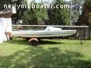 1961 Vintage Sailboat Dayailor 16' with trailer